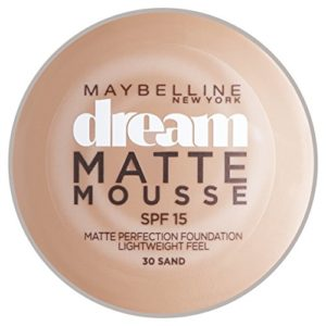 Maybelline Dream Matte Mousse Fond de Teint SPF15 30 Sand 18 ml