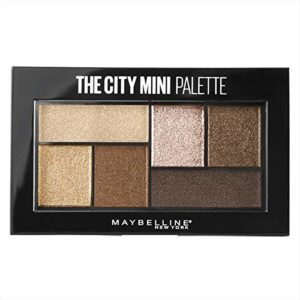 Maybelline New York The City Mini Palette Fards à Paupières 400 Rooftop Bronzes or