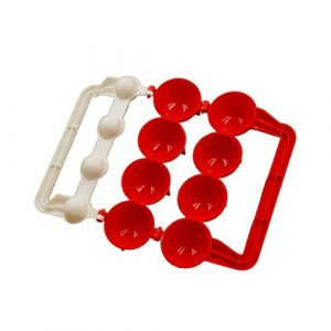 Meatball Fish Ball Maker (rouge et blanc)
