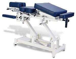 Medfit Medical Chiropratique Table–8sections–Bleu foncé d'ameublement