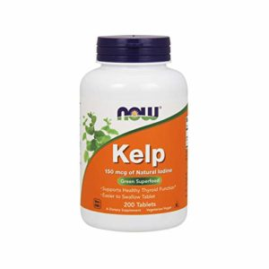 Minéraux Kelp (iode d'origine 100% naturelle)