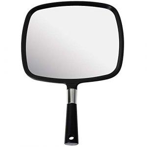 Mirrorvana Miroir à Main pour Coiffeur et Barbier