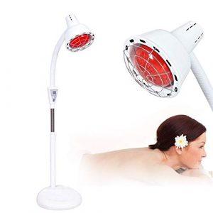 MOye Lampe À Infrarouge Lampe De Thérapie par Chaleur Infrarouge pour La Kinésithérapie Infrarouge Lointaine, Soulage Les Douleurs Musculaires