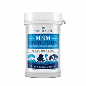 MSM Pure Canadian Crystal Flakes 200g