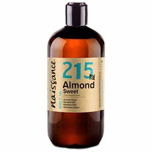 Naissance Huile d'Amande Douce (n° 215) – 500ml – 100% pure, végan, sans OGM – parfaite pour les massages, le soin des cheveux et de la peau