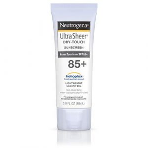 Neutrogena Ecran solaire sec au toucher Ultra Sheer – Protection UVA/UVB à large spectre – SPF 85 – 88 ml