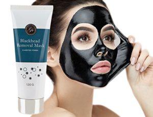*Nouveau* Masque Point Noirs Peel Off Visage Exfoliant et purifiant au charbon actif contre les points noirs (120g) – Purifie et nettoie en profondeur les pores obstrués, en particulier dans les zones difficiles à atteindre comme le nez et le menton