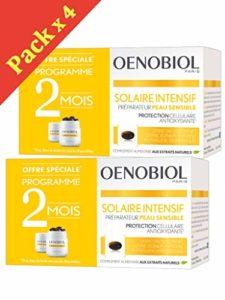 Oenobiol Solaire Intensif Nutriprotection Peaux Claires – Lot de 4 x 30 Capsules PC