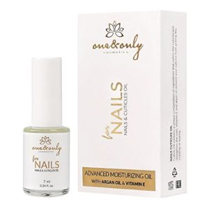 ONE&ONLY FOR NAILS – NAILS & CUTICLES OIL WITH ARGAN OIL AND VITAMIN E 7ml / 0.24 fl.oz; for dry, brittle and split nails and cuticles, prevents cuticle cracking and drying