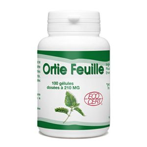 Ortie feuille Bio – 210mg – 100 gélules