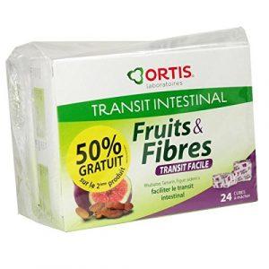 ORTIS – Fruits & fibres Ortis Transit Facile Lot de 2×24 Cubes