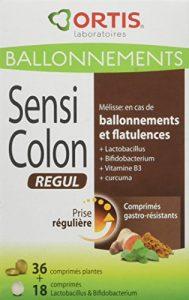 ORTIS Sensi Colon Regul Complément Alimentaire 54 Comprimés