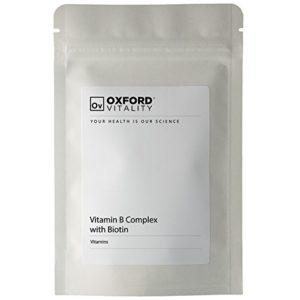 Oxford Vitality – Comprimés Complex Vitamine B avec Biotine