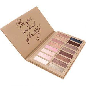 Palette Fard À Paupière Maquillage Yeux – Nude 16 Couleurs Shimmer Matte Ultra Pigmenté Ombre A Paupière
