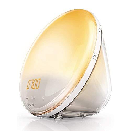 Philips – HF3520/01 – Eveil Lumière avec Lampe LED – Fonction Red Shift