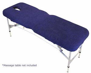 Physique – Housse pour table de massage avec trou pour la tête