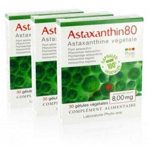 Phyto-one – 3 Astaxanthin80 (astaxanthine naturelle – 8 mg/gélule)