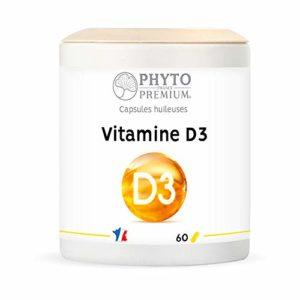 PHYTOPREMIUM Cap Huil Vitamine D3 2,5 mcg