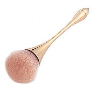 Pinceau Fond de Teint Professionnel pour Maquillage du Visage – Parfait Pour le Mélange Poudre Cosmétique Sans Défaut – Polissage, Pointillé, Anticernes