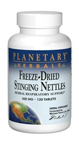 Planetary Herbals – Freeze-Dried Stinging Nettles 420 mg. – 120 Tablets Formerly Planetary Formulas