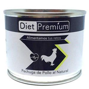 Poulet Cuit (140g) Diet Premium Burger – Nature
