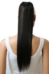 PRETTYSHOP 60cm clip en extensions postiche extension de cheveux lisse résistant à la chaleur variation HC14