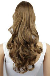 PRETTYSHOP Postiche postiche queue de cheval ondulée extension de cheveux queue de cheval 60 cmbrun clair # 12 HC3-1