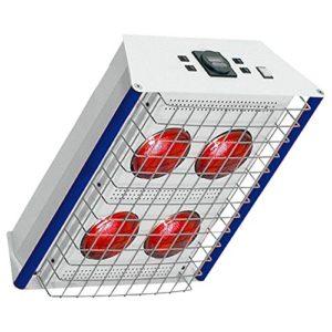Projecteur TGS Therm 4couverture modèle, la chaleur infrarouge Lumière Rouge, Rot