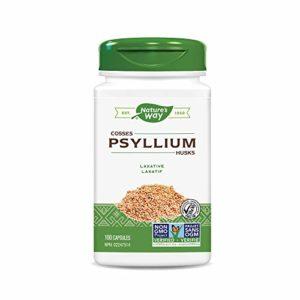 Psyllium Husks 100 vcaps