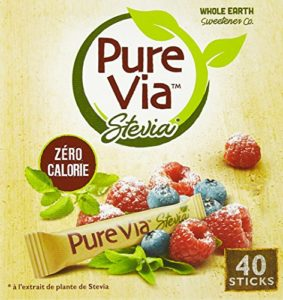 Pure Via 40 Sticks Stevia 60 g