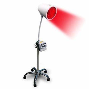 QXXNB Chauffage Infrarouge Lampe de physiothérapie, la Peau Claire pour soulager la Douleur du Corps Musculaire Soins de beauté Blanc Multifonctions rhumatismale Douleur Lampe Dispositif
