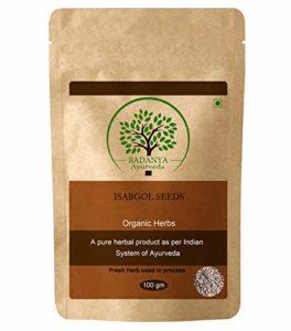 RADANYA Ayurveda Graines Isabgol 100% naturelles | Graines de psyllium