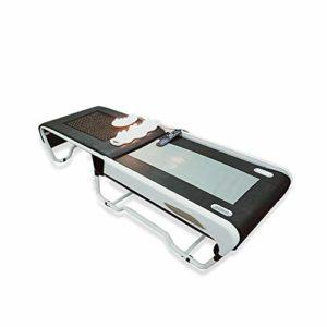 RGLZY Lit De Massage Pliant, Lit De Physiothérapie Chaud, avec Commande Manuelle Audio/Grand Écran LCD De Haute Qualité, pour Le Traitement Facial De Physiothérapie De Beauté Spa