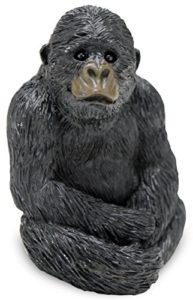 Sandicast Sculpture de gorille de petite taille