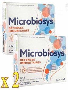 Sanofi Microbiosys Défenses Immunitaires 12 Sachets – lot de 2 Boites (2)