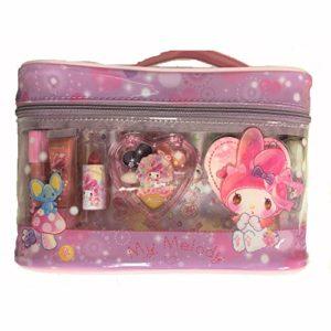 Sanrio (My Melody Vanity Ensemble de cosmétiques avec étui en Forme de Sac pour cosmétiques