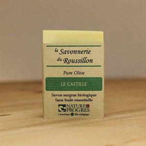 Savon Surgras Bio – Pure Olive – Le Castille