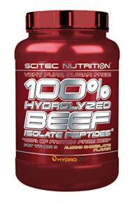 Scitec Ref.107480 Protéine Peptide de Bœuf Complément Alimentaire 900 g