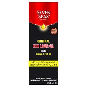 Seven Seas Cod Liver Oil Range Traditional Liquid 450ml
