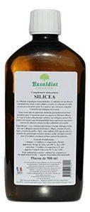 Silicium organique   2 x 500 ml   Stabilisé sur Collagène Marin – Extrêmement Concentré – Enrichie à l' extrait de Prêle et d' Ortie.