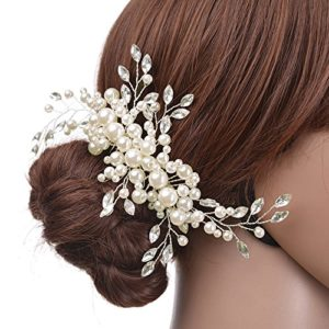 Skitic Lot de 3 épingles à Cheveux pour mariée et Demoiselle d'honneur