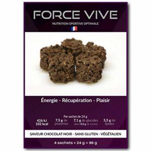 Snack Protéinés Goût Chocolat Noir (Vegan) Pack de 4 (4x24g) | Dessert Proteine Plaisir Minceur Régime, Nutrition Musculation, Complément Repas, Perte de Poids, Low Carb, Faible Sucre et Hyperprotéiné