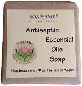 SOAPS4ME Savon naturel à la main pour huiles essentielles antiseptiques | Citronnelle | Arbre à thé | eucalyptus | girofle | cannelle | origan