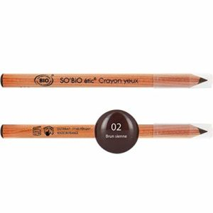 So'Bio Étic Crayon Contour Yeux Tenue Intense 02 Brun Sienne – Lot de 2