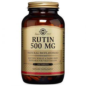 Solgar Rutin 500 mg Tablets, 250 Tabs 500 mg