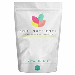 Soul Nutrients Vitamin B12 120 Tablets UK Manufactured- Improve your Wellbeing