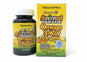 Source of Life® Animal Parade® Omega 3/6/9 Junior 90 softgels NP