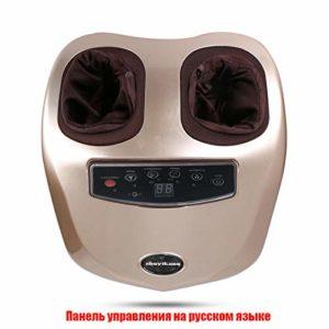 Ssltdm Masseurs électriques pour Les Pieds Pétrissage Automatique Chauffage pétrissage Semelle de Pied de Massage