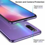 Suhctup Coque Compatible avec Xiaomi Mi Play,Ultra-Mince Souple Gel Coque Souple Soft Silicone [Shock-Absorption] Souple Solide Resistant Fine Protection Housse Etui Transparente Motif Tendance