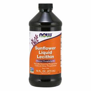 Sunflower Liquid Lecithin, 16 fl oz (473 ml) – Now Foods